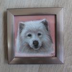 Miniatuur portretje in pastel